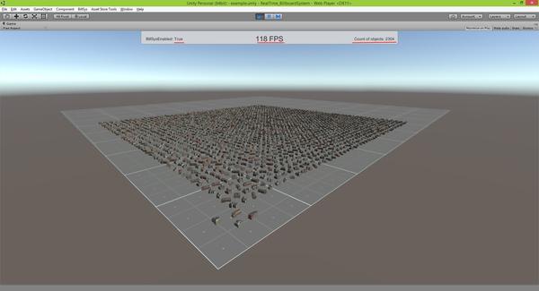 Unity 3D Asset Store - Мой проект. Realtime Billboard System Unity, Unity3d, Unity 3D, Asset, Asset store, Длиннопост
