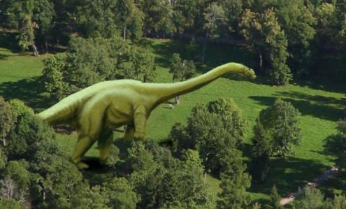 Панорама Яндекса... динозавры, панорама, яндекс, яндекс панорамы
