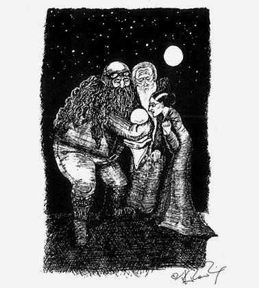Дж. Роулинг опубликовала собственные иллюстрации. Гарри Поттер, Джоан Роулинг, иллюстрации, длиннопост