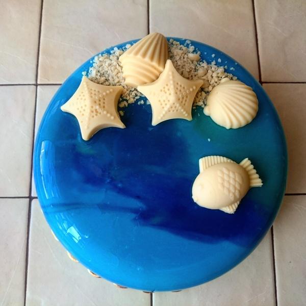 Есть тут любители сладкого? Вот вам муссовый торт в ленту ;-) Торт, Мусс, Сладкоежки, Фото, Санкт-Петербург