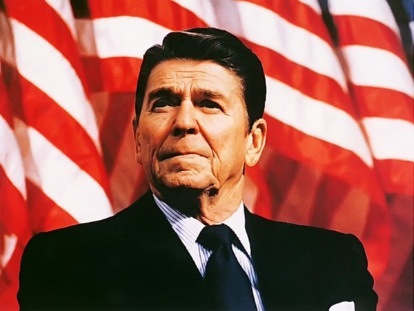 the involvement of the american people on the ideological issues of ronald reagan in the united stat