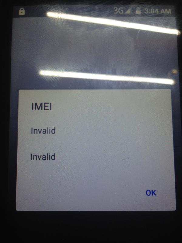 Подробнее про правку IMEI на примере свежепочиненного Micromax d303 Ремонт телефона, IMEI, Длиннопост