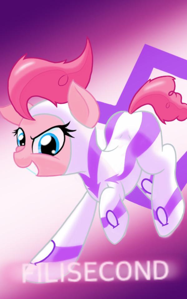 Fast Pink. My little pony, Pinkie Pie