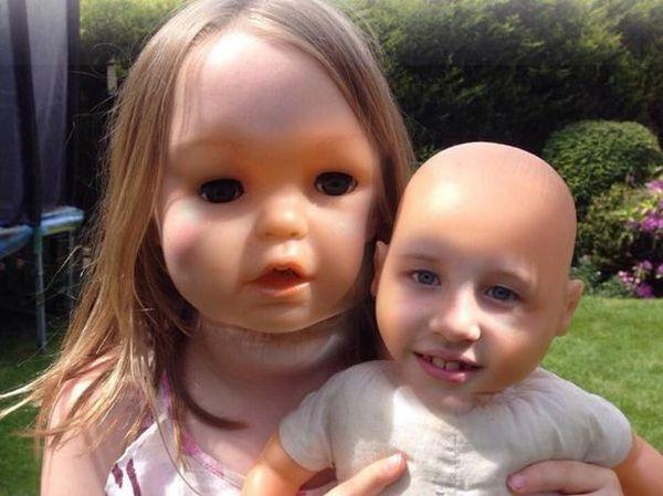 Спокойной ночи... Кукла, Face swap, Крипота