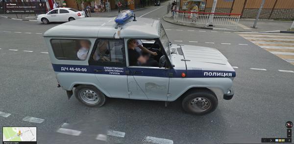 Прогулки по Адлеру Адлер, Google Maps, Находка, Полиция, Бобик