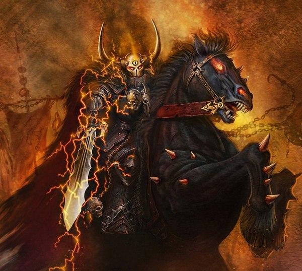 Архаон, Владыка Конца Времён. Часть 1. Warhammer fantasy battles, Warhammer, Хаос, Персонажи, Информация