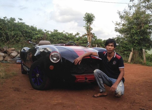 25ти летний вьетнамец собрал реплику Shelby Cobra 427 на основе Nissan Silvia 1984 (9 фото + 2 видео) Авто, Shelby, Nissan, Самоделки, Прямые РУКИ, Вьетнам, Видео, Длиннопост