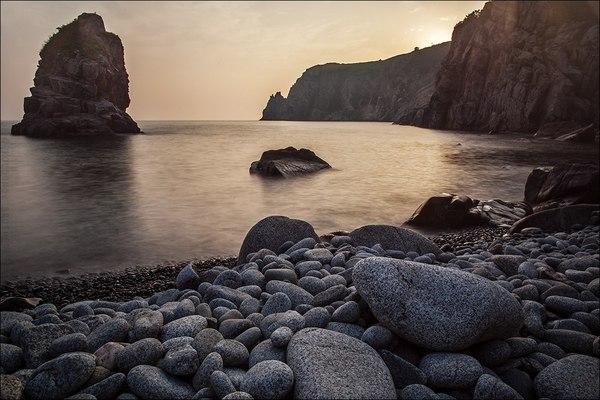 Японское море Пейзаж, Фотография