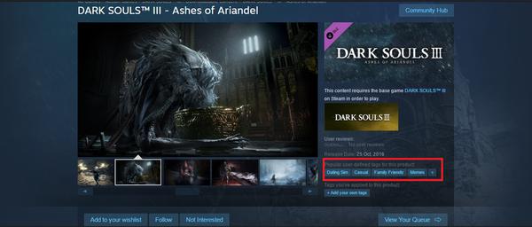 Dark Souls III - легкий семейный симулятор знакомств Dark Souls 3, Ashes of Ariandel, Смешное