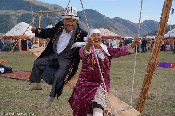 Вот такой должна быть старость Старость, Кыргызстан