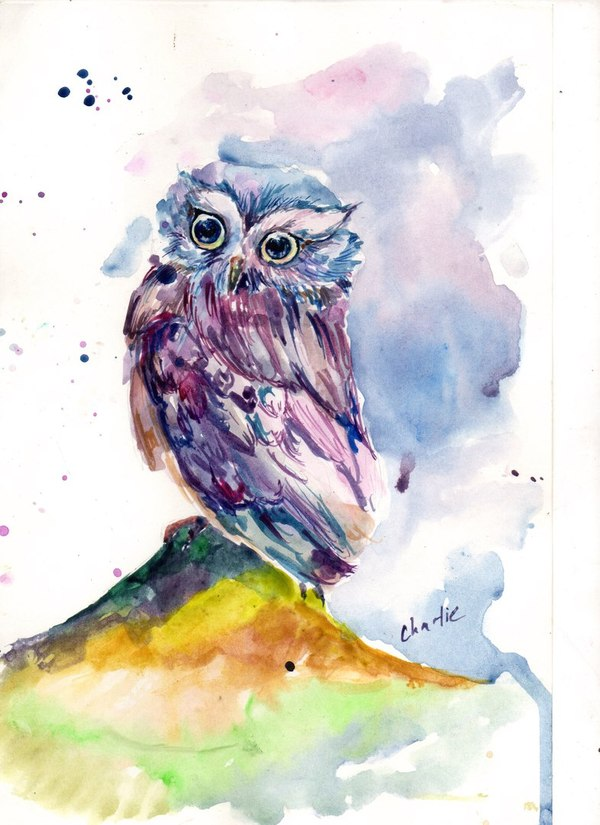 Творчество от Чарли Творчество, Рисунок, Длиннопост