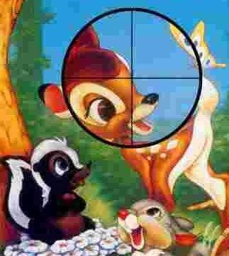 """Благими намерениями вымощена дорога в ад: """"защитники"""" животных - их враги,  или """"Спасите Бэмби!"""" Охота, Гринпис, Развенчание мифов, Длиннопост"""