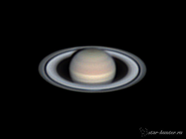Сатурн, 25 августа 2016 года, 19:59. Сатурн, Астрофото, Астрономия, Космос, StarHunter, АнапаДвор, Длиннопост