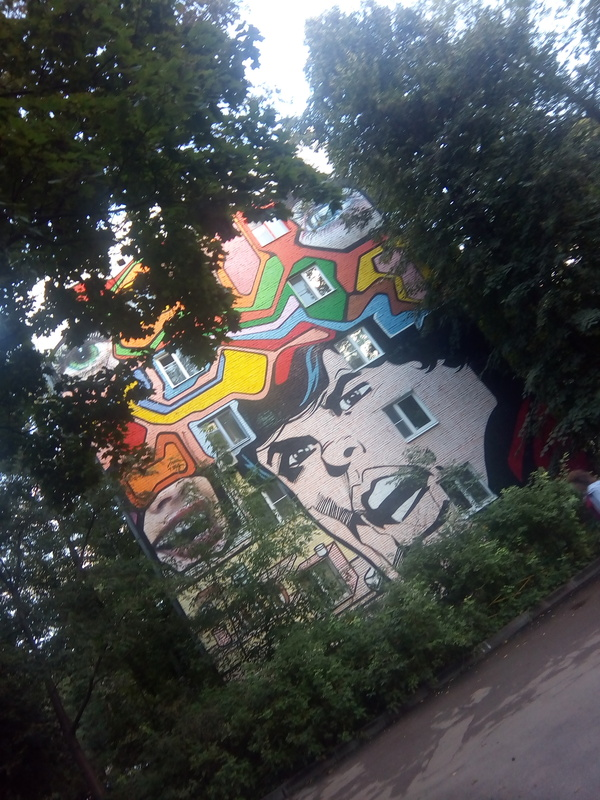 Открытия на районе Граффити, Двор, Творчество, Длиннопост