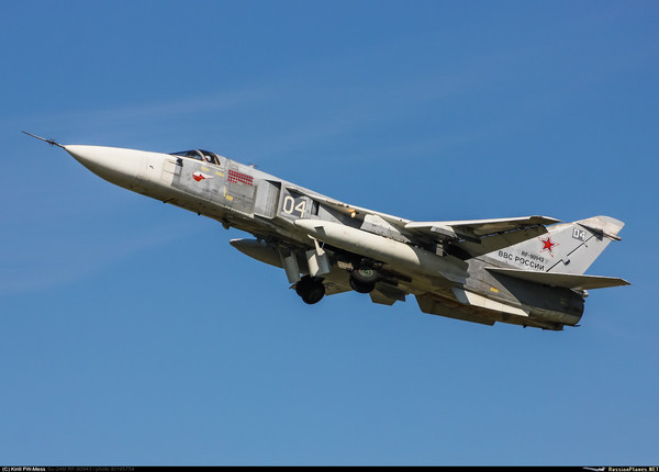 Боевой Су-24 Су-24, Сирия, Россия, ВКС, Авиация, Фото, Russianplanes