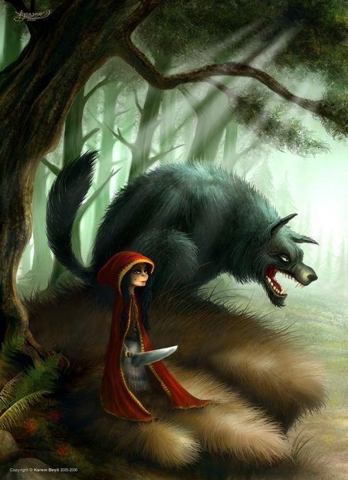 КРАСНАЯ ШАПОЧКА (Альтернативное) Сказка, Красная шапочка, Mortal kombat, Длиннопост