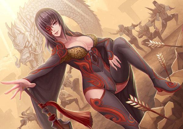 Blade & Soul Blade and Soul, Игры, Game art, Длиннопост