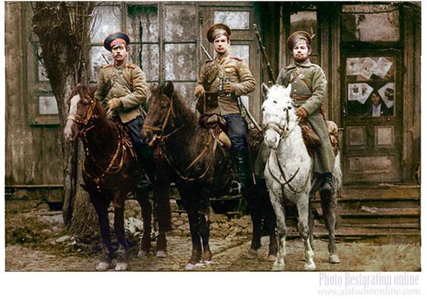 Казаки-людоеды Первая мировая война, Казаки, Пленные, Германец