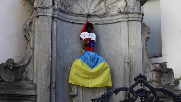 Очередной конфуз. Конфуз, флаги, Украина, Россия, дипломаты