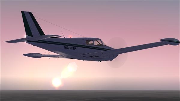 Красота полетов. Самолет, Симулятор