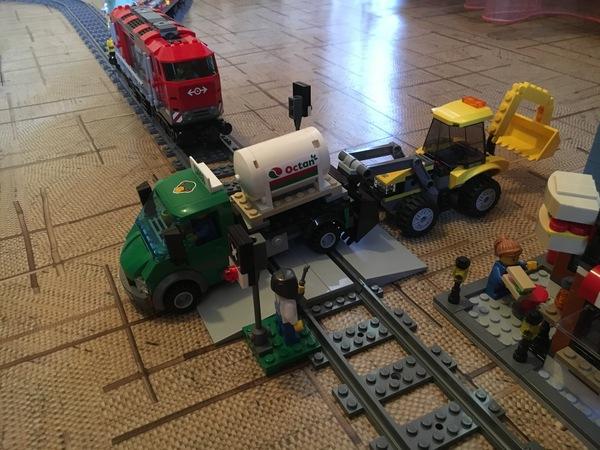 LEGO Мощный грузовой поезд Lego, Lego City, Поезд, Железная Дорога, Дарт вейдер, Длиннопост