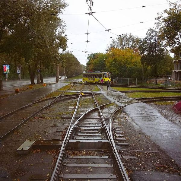 Время на пальцах Трамвай, Время, Екатеринбург, Работа