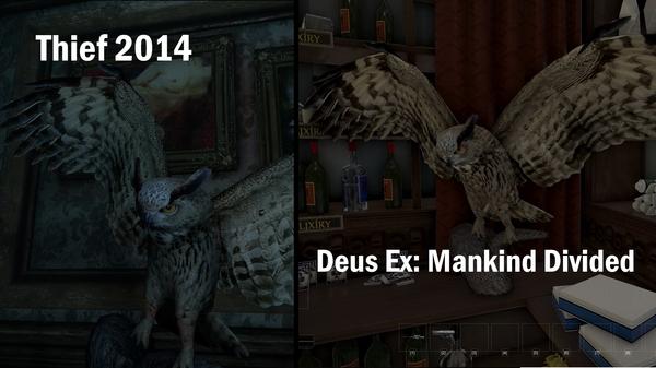 Экономия Deus Ex MankindDivided, Thief, Eidos Montreal