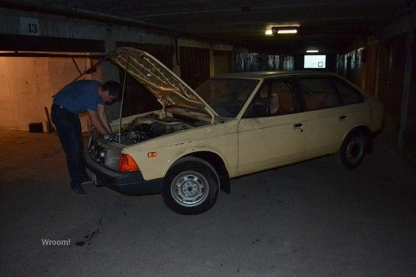 Найденный в Эстонии «Москвич-2141» 1990 года выпуска с пробегом менее двух тысяч км Авто, Машина, Москвич, Находка, Эстония, Москвич 2141, Длиннопост