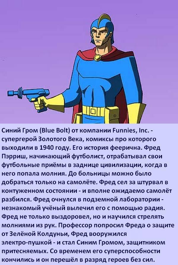 Факты о супергероях: Малоизвестные персонажи Супергерои, Чили, Король, Рывок, Чудовище, Комиксы-Канон, Длиннопост