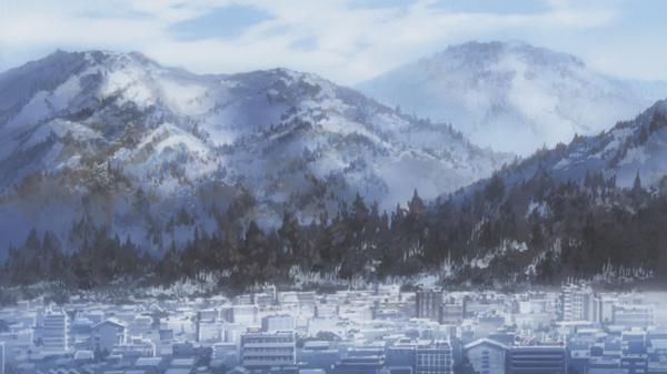 Зимние утренние скриншоты с Kanon (аниме) Kanon, Зима, Скриншот, Длиннопост