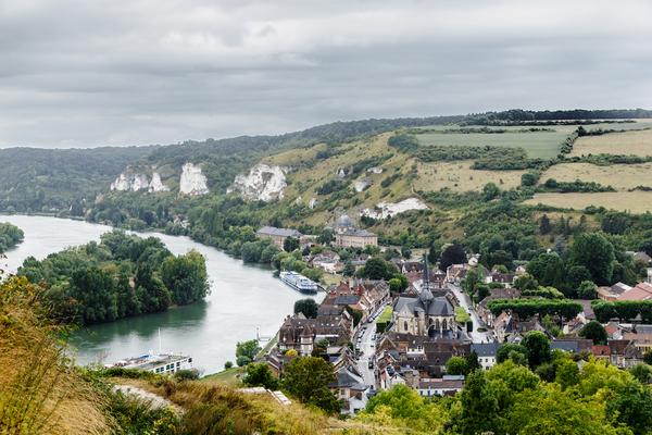 Нормандский дождь Фотография, Нормандия, Замок, Canon, Hdr, Дождь, Длиннопост