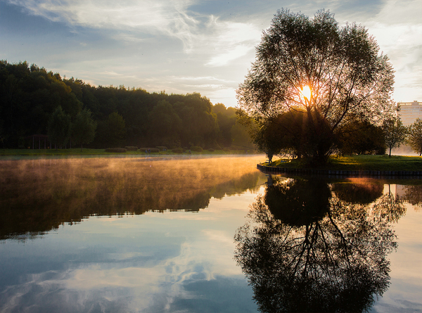 Пробежка на рассвете Москва, Природа, Пейзаж, Фотограф