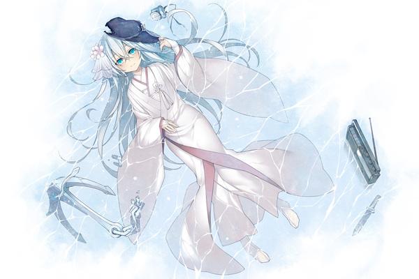 В последний раз меня звали Верный... Аниме, Anime Art, Kantai collection, Hibiki