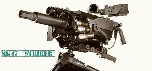 Автоматический гранатомет Mk47 «Striker» (США) Оружие, Гранатомет, Mk47, Длиннопост