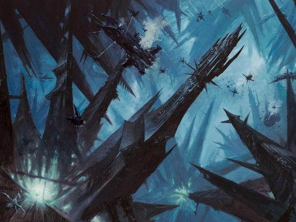 Спустя год вернулся, ловите Темных Остроухих в ленту Остроухие, Эльфы, Eldar, ТЭ, Dark eldar, Warhammer 40k, Длиннопост