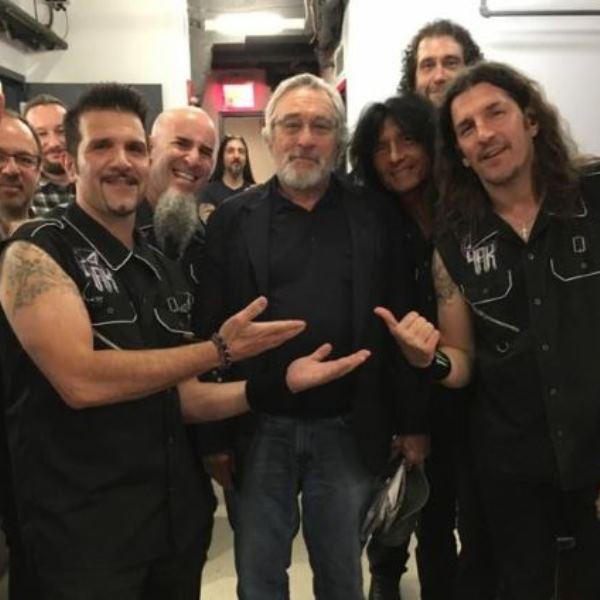 Anthrax пообщались с Робертом Де Ниро на шоу «Поздней ночью с Сетом Майерсом» Anthrax, Thrash metal, Robert de Niro, Metal, Thrash