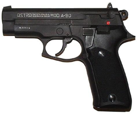 Пистолет «Astra» модели А-90 калибра 9х19 Оружие, Огнестрельное оружие, Пистолеты, Astra, Длиннопост