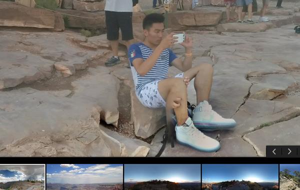Смотрел на гранд каньон через гугло-карты... Всё - таки азиаты странные...