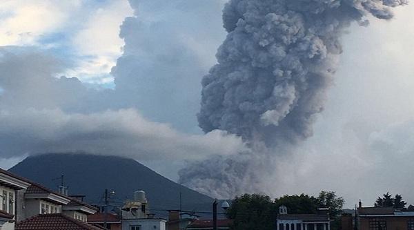 Вулканическая активность в мире на 28 августа 2016 года. Мир, Вулкан, Извержения, Длиннопост