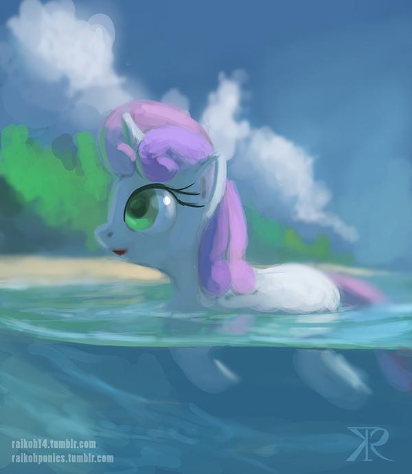 СвитиБелль My little pony, OctaVatic, Sweetie Belle