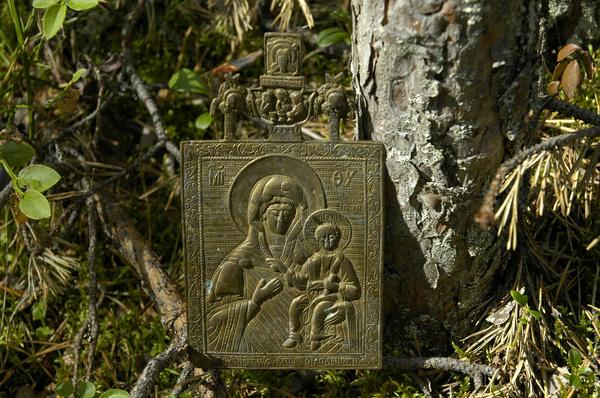 Собирал грибы, нашел икону Икона, Мезень, Культура, Археология, Потеря, Длиннопост