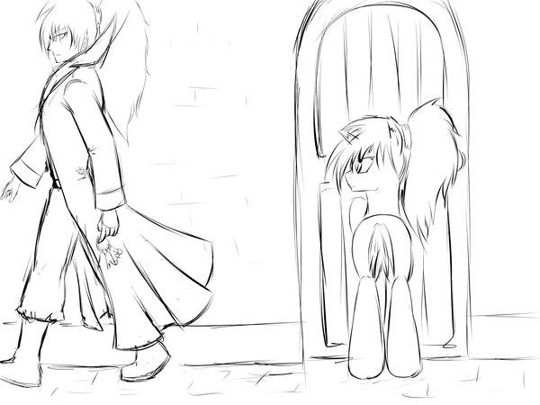 Пролог. Мир тысячи дверей. My little pony, Original Character, Фанфик, TheDoor