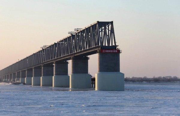 Россия... Мост, Китай, Россия, Строительство, Коррупция