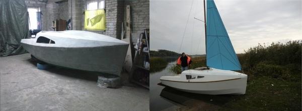 Строительство парусной яхты. Часть восьмая. Яхта, Море, Длиннопост, Своими руками