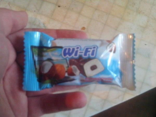 Съел вайфай. Wi-Fi, Упоротость, Еда
