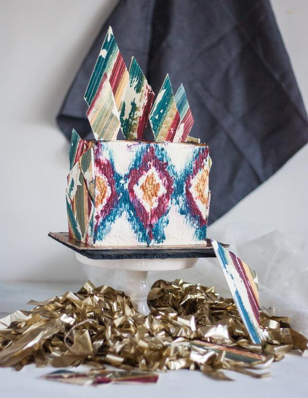 Этно-торт Торт, Выпечка, Сладости, Кондитер, Шоколад, Длиннопост