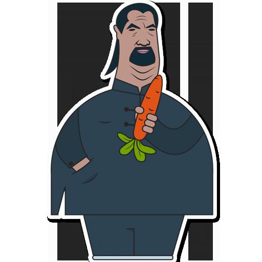Стивен и морковь