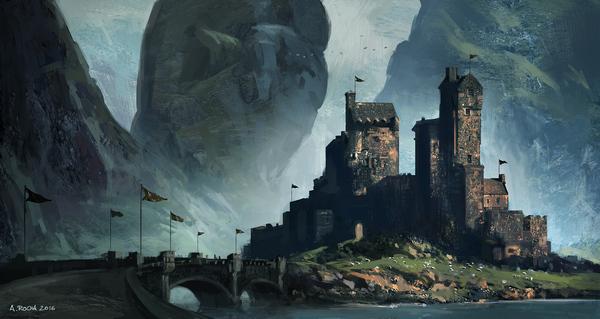 Замок Замок, Арт