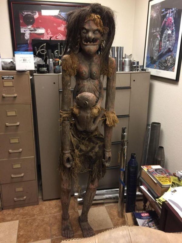 Африканская богиня плодородия, которая помогает забеременеть Богиня, Жуть, Длиннопост