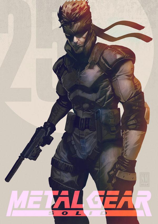 Metal Gear - Solid Snake ч.2 Metal Gear, Metal Gear Solid, текст, длиннопост, Solid Snake, частично моё, Видео, Игры